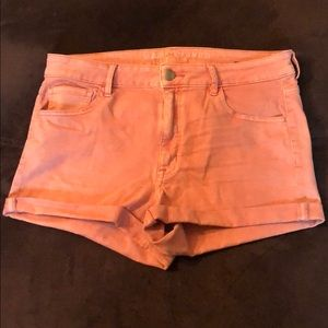 American Eagle Hi-Rise Shorties